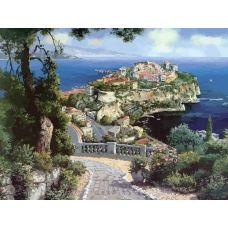 Живопись по номерам Княжеский дворец в Монако, 40x50, Белоснежка