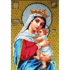 Набор для вышивания Богородица Отчаянных Единая Надежда, 16x24, Вышиваем бисером