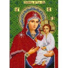 Набор для вышивания Богородица Тихвинская, 18,5x25,5, Вышиваем бисером