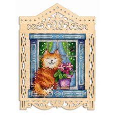 Набор для вышивания крестом Под весенним солнышком, 19x14 (11x10), Щепка (МП-Студия)