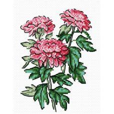 Набор для вышивания крестом Летнее трио, 18x15, Жар-Птица (МП-Студия)