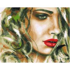 Живопись по номерам Горячая блондинка, 40x50, Paintboy, GX33241