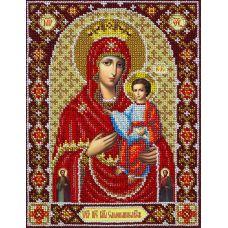 Набор для вышивания бисером Святая Богородица Самонаписавшаяся, 20x26, Паутинка