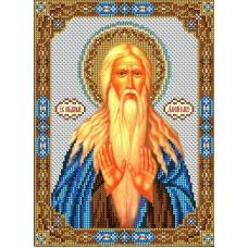 Набор для вышивания Святой Макарий (Макар), 20x26,5, Вышиваем бисером
