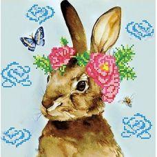 Канва с рисунком Весна, 25x25, Божья коровка