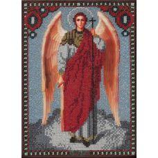 Схема Принт для вышивки бисером Архангел Михаил, 16,5x22,5, Вышиваем бисером