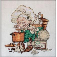 Набор для вышивания крестом Томатный суп, 21x21, НеоКрафт