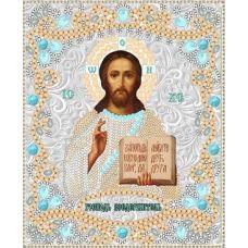Ткань для вышивания бисером Спас Вседержитель, 15x18, Конек