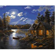 Живопись по номерам Дом на Аляске, 40x50, Paintboy, GX7618
