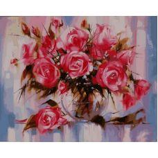 Живопись по номерам Розы, 40x50, Paintboy, GX9898