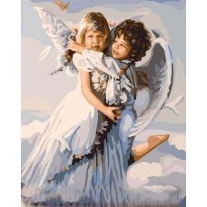 Живопись по номерам Ангельская нежность, 40x50, Paintboy, GX6508