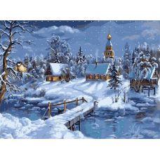 Живопись по номерам Зимнее..., 40x50, Paintboy, GX7612