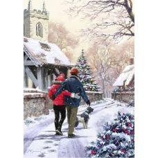 Живопись по номерам Канун рождества, 40x50, Paintboy, GX3920
