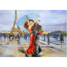 Живопись по номерам Французский поцелуй, 40x50, Paintboy, GX3122