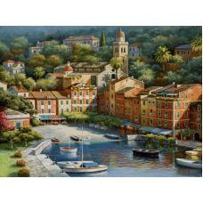 Живопись по номерам Солнечная Италия, 40x50, Paintboy, GX6743