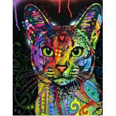 Живопись по номерам Абиссинский кот, 40x50, Paintboy, GX9868