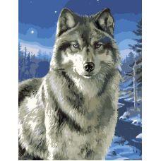 Живопись по номерам Взгляд гордого зверя, 40x50, GX6528
