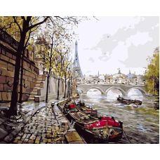 Живопись по номерам Париж, 40x50, Paintboy, GX7533