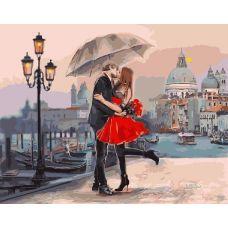 Живопись по номерам Венецианская любовь, 40x50, Paintboy, GX9991