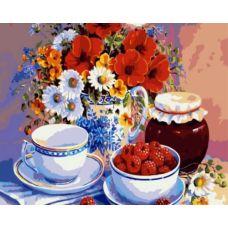 Живопись по номерам Малиновое варенье, 40x50, Paintboy, GX7469