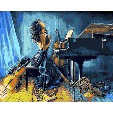 Живопись по номерам Со страстью, 40x50, Paintboy, GX7011