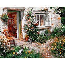 Живопись по номерам Летом на даче, 40x50, Paintboy, GX27205