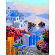 Живопись по номерам Греческая веранда, 40x50, Paintboy, GX33729
