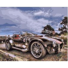 Живопись по номерам Shelby Cobra, 40x50, Paintboy, GX33821