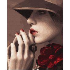 Живопись по номерам Женщина-загадка, 40x50, Paintboy, GX33838