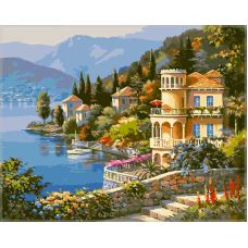 Живопись по номерам Италия, 40x50, Paintboy, GX6915