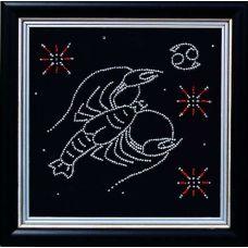 Набор для вышивания бисером Гороскоп Рак, 18x18, Магия канвы
