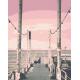 Живопись по номерам Причал на закате, 40x50, Hobruk, HS1080