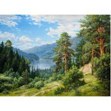 Живопись по номерам Родимый край, 40x50, Paintboy, GX31068