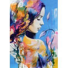 Живопись по номерам Весенний профиль, 40x50, Paintboy, GX26746