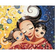 Живопись по номерам Мамино счастье, 40x50, Hobruk, U8075