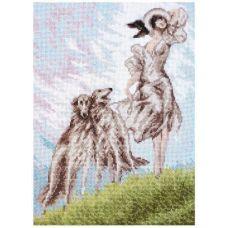 Набор для вышивания Три грации, 20x27, Палитра