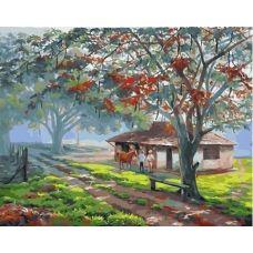 Живопись по номерам На ферме, 40x50, Paintboy, GX33850