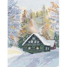 Набор для вышивания крестом Околдованный лес, 20x26, Овен