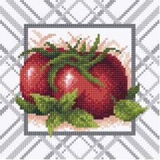 Алмазная мозаика Спелый томат, 20x20, полная выкладка, Brilliart (МП-Студия)