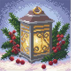 Алмазная мозаика Огонь надежды, 20x20, полная выкладка, Brilliart (МП-Студия)