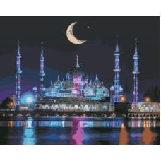 Живопись по номерам Мечеть Кристалла, 40x50, Hobruk, U8117