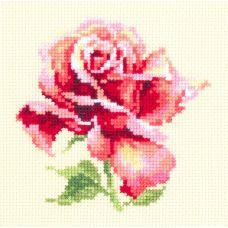 Набор для вышивания крестом Прекрасная роза, 11x11, Чудесная игла