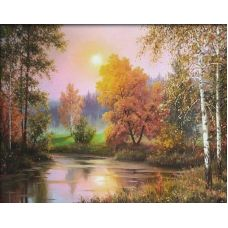 Живопись по номерам Осенние сумерки, 40x50, Paintboy, GX28523