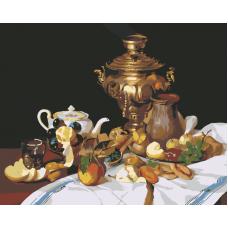 Живопись по номерам Русский завтрак, 40x50, Hobruk, HB0032
