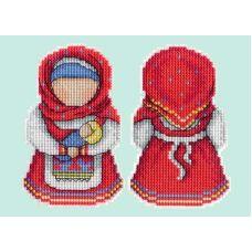 Набор для вышивания крестом на пластиковой основе Оберег. Материнство, 11x8, Жар-Птица (МП-Студия)
