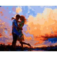 Живопись по номерам Любовь, 40x50, Paintboy, GX33458
