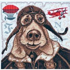 Набор для вышивания Авиатор, 27x27, Палитра