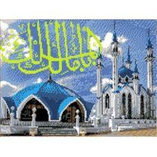 Рисунок на канве Мечеть Кул Шариф, 23x30, Каролинка