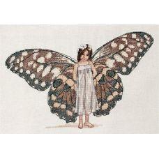 Набор для вышивания крестом Душа бабочки, 17x27, НеоКрафт