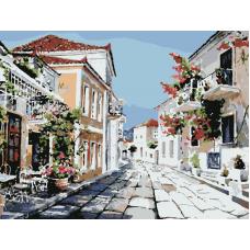 Живопись по номерам Прогулка по солнечной улице, 30x40, Hobruk, HS3007